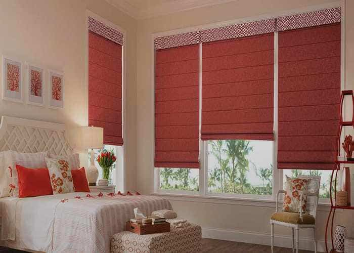 Roman Blinds Dubai | Buy 100% Best Quality Roman Blinds